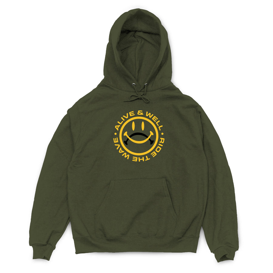Ride The Wave Hoody - Olive