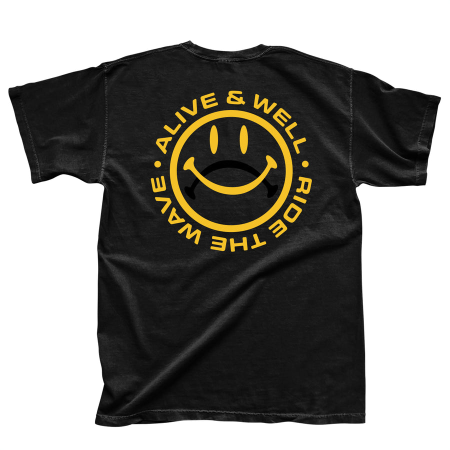 Ride The Wave Tee - Black