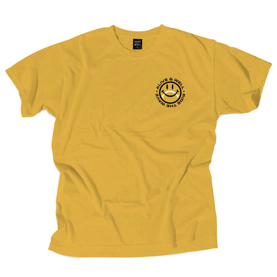Ride The Wave Tee - Citrus