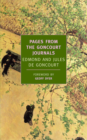 Pages from the Goncourt Journals