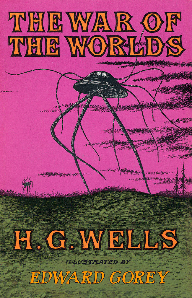 Image result for book cover the war of the worlds