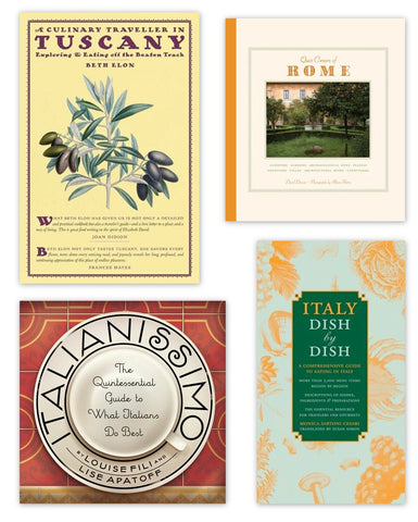 Italy, Bound: Four Guides to the Best of Its Cuisine and Culture