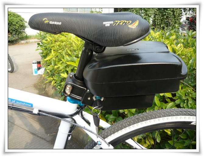 48V LITHIUM-ION BATTERY REAR RACK E-BIKE BICYCLE