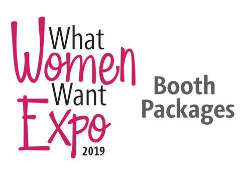What Women Want Vendor Booth Packages