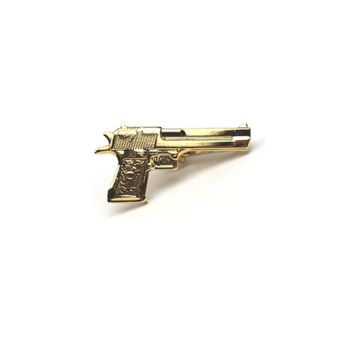Accessories - Gold 'Gun' Tie Clip