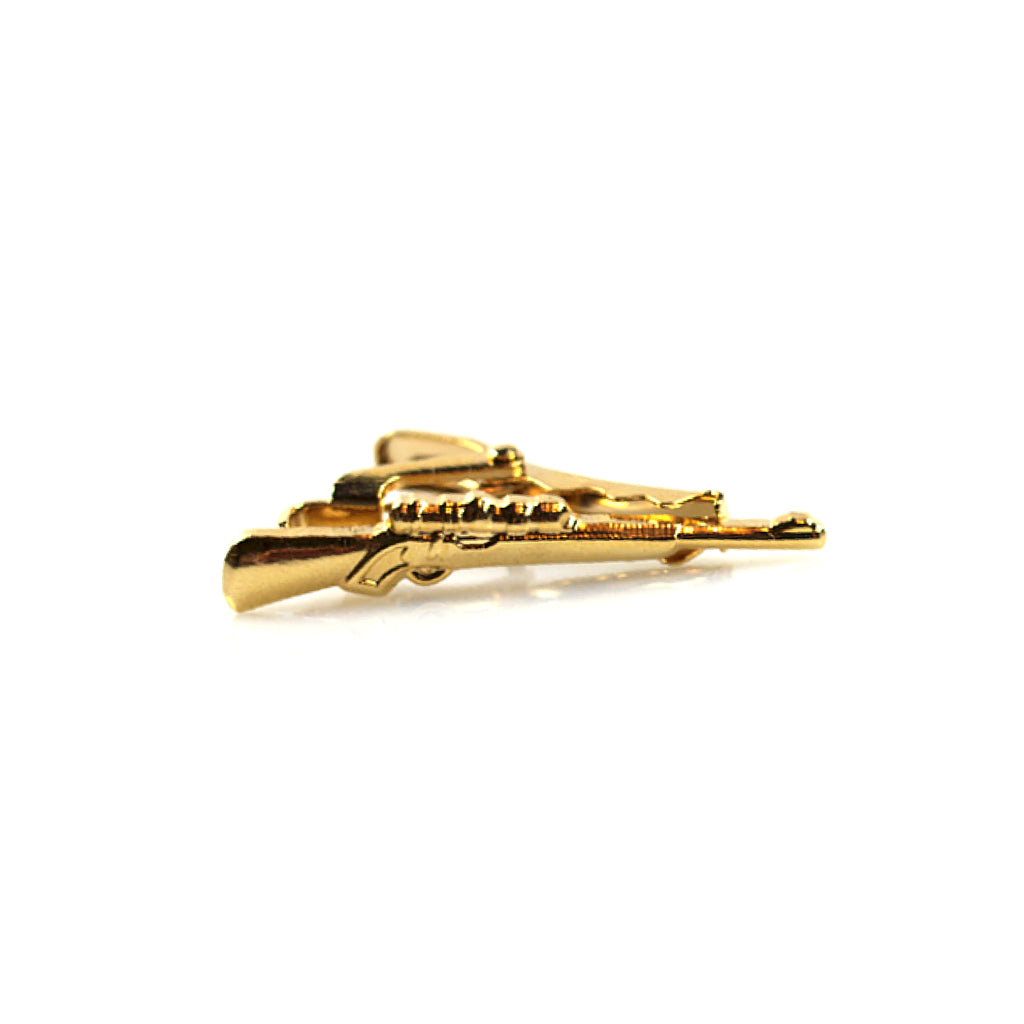 Accessories - Gold 'Rifle' Tie Clip