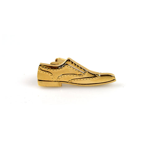 Accessories - Gold 'Shoe' Tie Clip