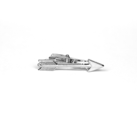 Accessories - Silver 'Arrow' Tie Clip