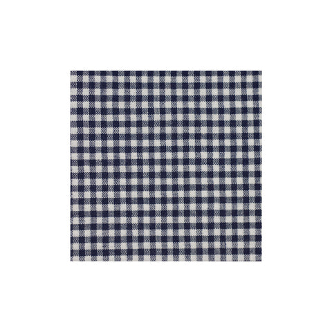Black Checkered Cotton Pocket Square