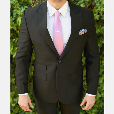 Black Custom Bespoke Suit