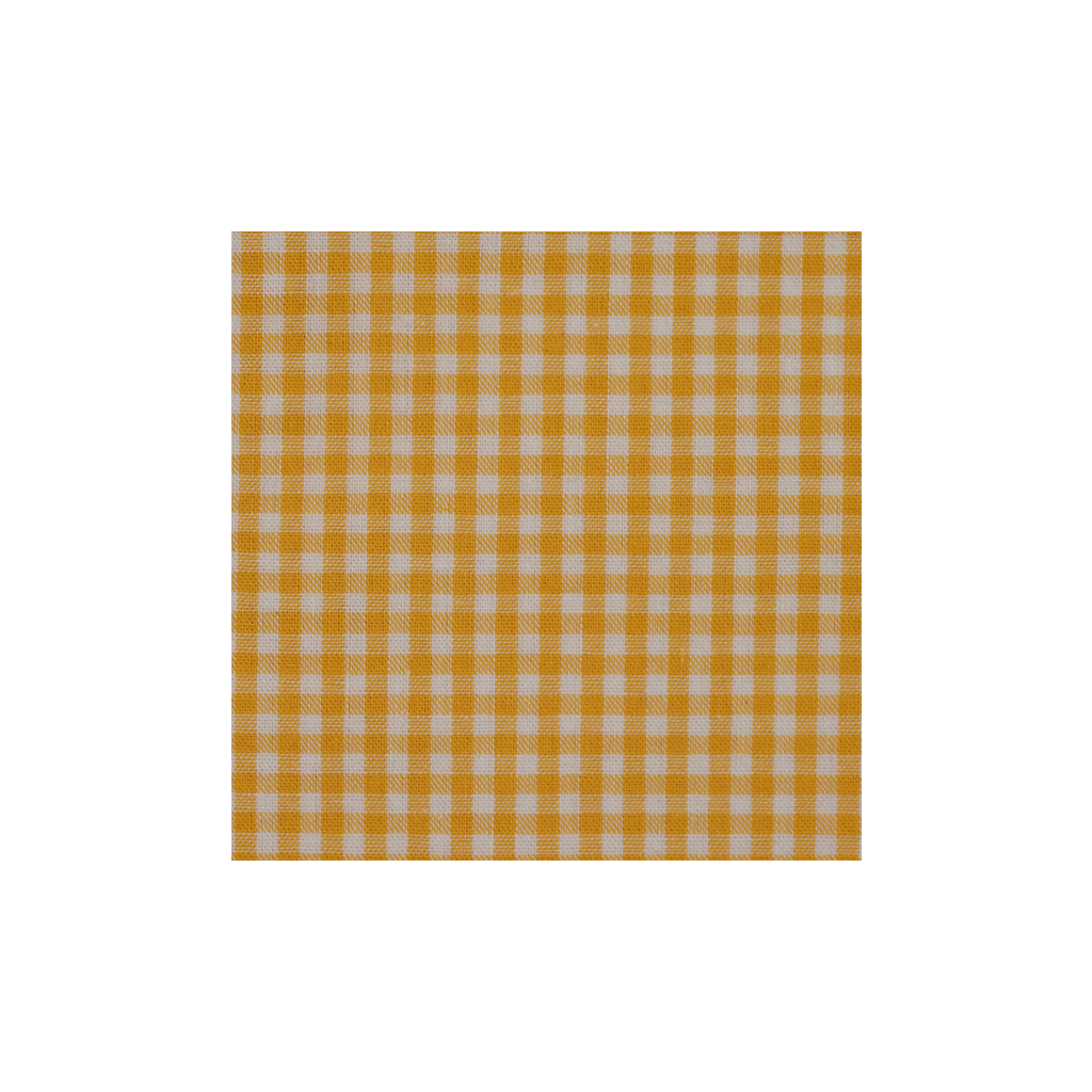 Orange Checkered Cotton Pocket Square