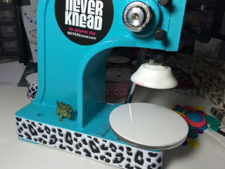 Decorate your NEVERknead Polymer Clay Kneading Machine with faux leopard