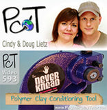 The Polymer Clay Tutor (PCT) Cindy Lietz reviews The NEVERknead Polymer Clay Kneading Machine