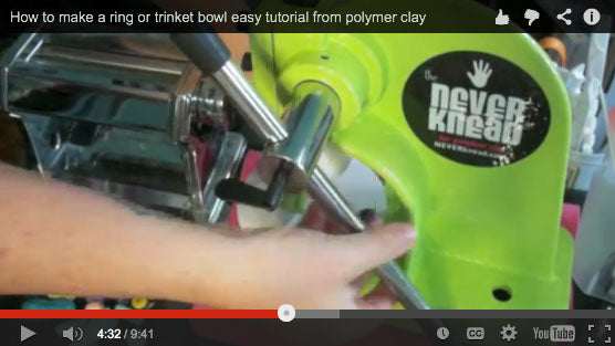 Trinketbowl reviews The NEVERknead Polymer Clay Kneading Machine