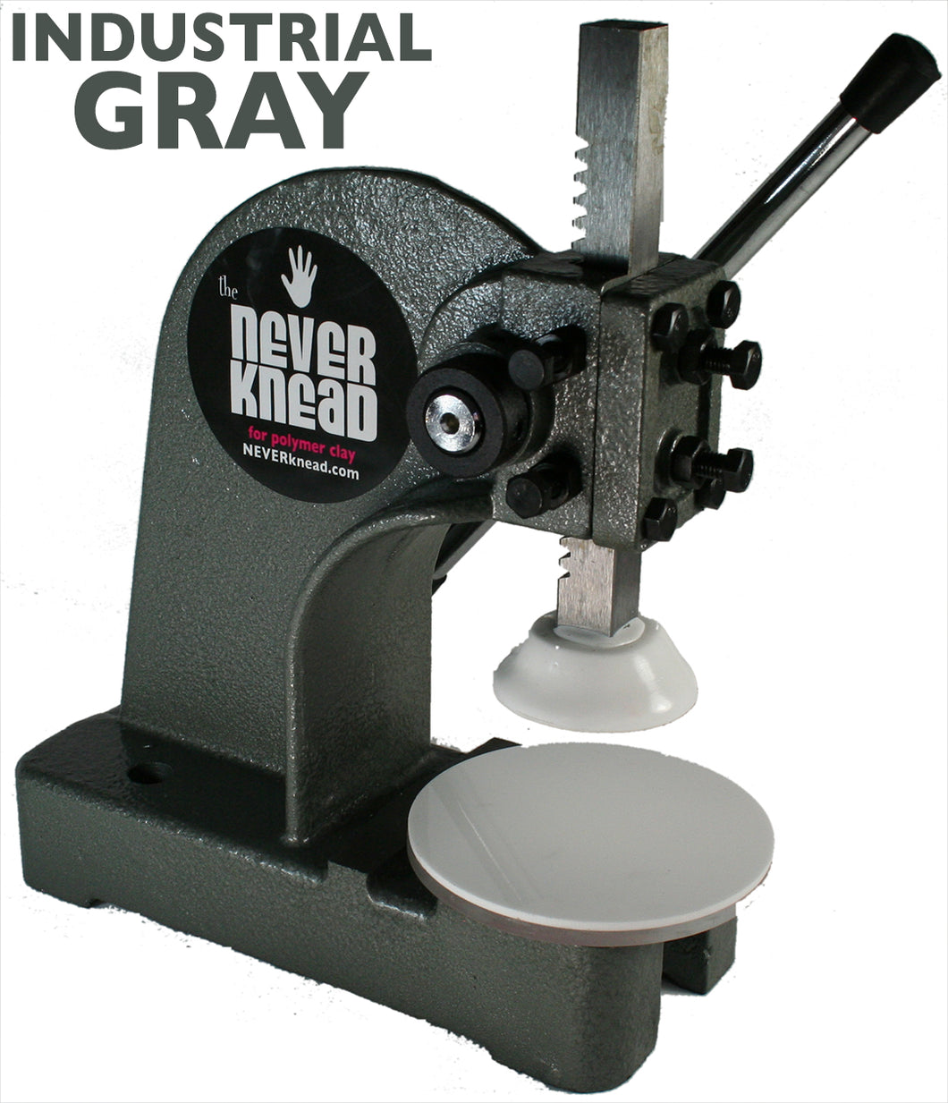 The NEVERknead Polymer Clay Kneading (Conditioning) Tool for All Clay - Gray - by NEVERknead.com