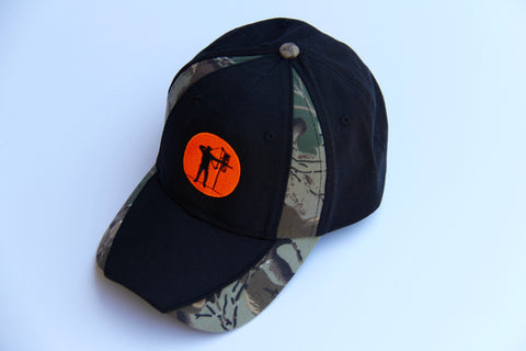 "Hat ""Black & Camo Steppin' Out"""