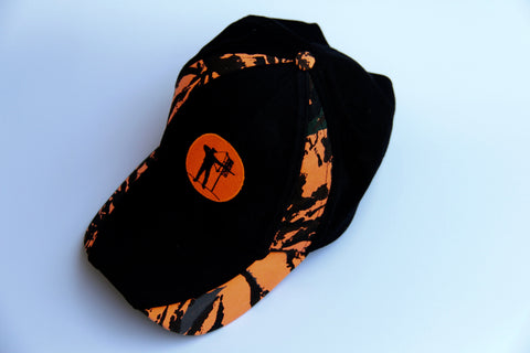 "Hat ""Hunters Orange & Camo Steppin' Out"""