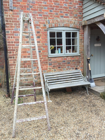 Apple Ladder and Vintage Bench - www.lovinglymadeltd.co.uk