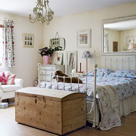 VINTAGE BEDROOM - LOVINGLY MADE - GARDEN & HOME VINTAGE BOUTIQUE