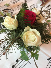XMAS FLOWERS - LOVINGLY MADE VINTAGE BOUTIQUE
