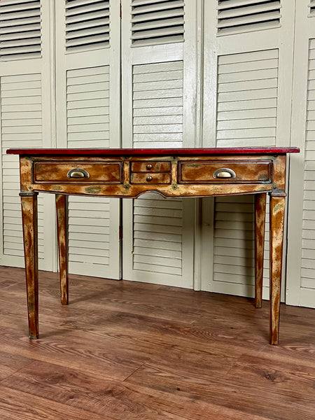 Vintage French Garden Chair - LOVINGLY MADE FURNITURE, SUSSEX - Antique & Vintage Furniture