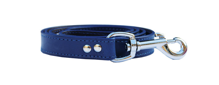 BEAU PETS Leather Deluxe Lead Sewn