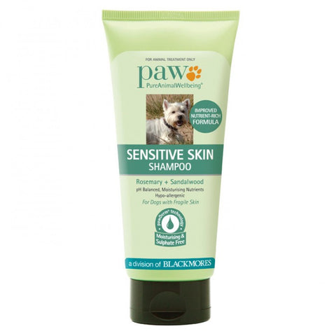 PAW Sensitive Skin Shampoo 200ml