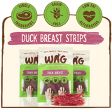 WAG Duck Breast Jerky 200g
