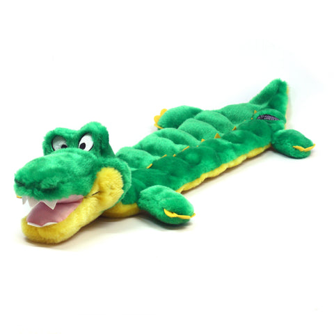 OUTWARD HOUND Squeaker Mat Long Body Gator Large