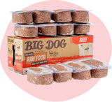 BIG DOG Beef Raw Food (frozen)