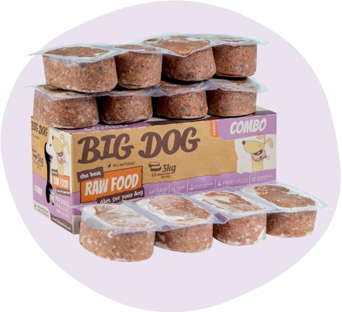 BIG DOG Combo Raw Food (frozen)
