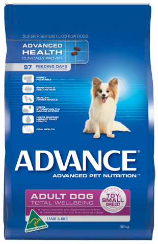 ADVANCE Adult Total Wellbeing Toy Small Breed, Lamb & Rice