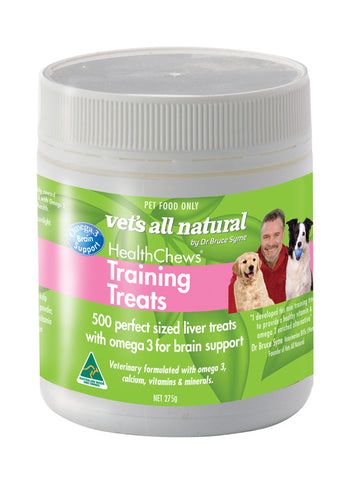 SPECIAL ORDER ~ VETS ALL NATURAL Training Treats 275g