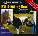 STOCKBRANDS Pet Drinking Bowl