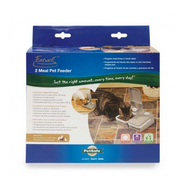 PETSAFE Eatwell 2 Meal Pet Feeder - RENTAL per day