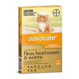 ADVOCATE Cat 0-4kg Orange