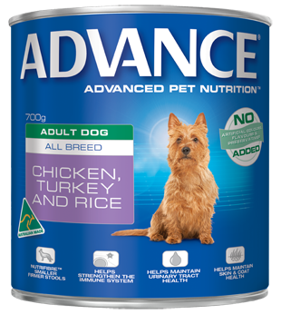 ADVANCE Adult Chicken, Turkey & Rice 12x700g