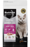 BLACK HAWK Adult Cat Lamb 3kg