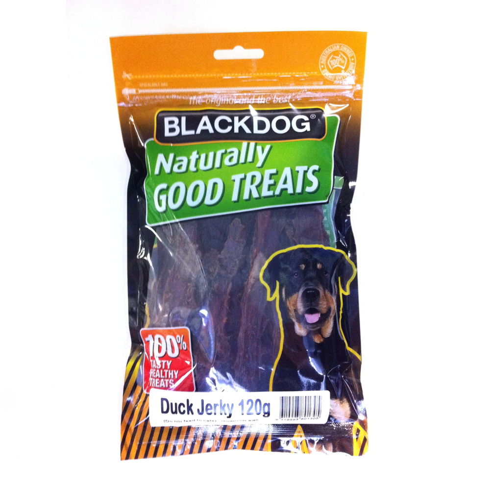 BLACKDOG Duck Jerky