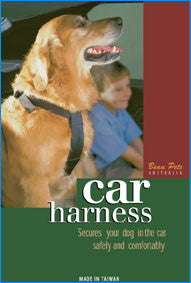 BEAU PETS Car Harness Black