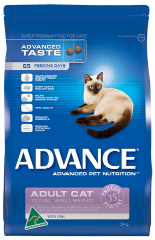 ADVANCE Cat Adult Fish 3kg