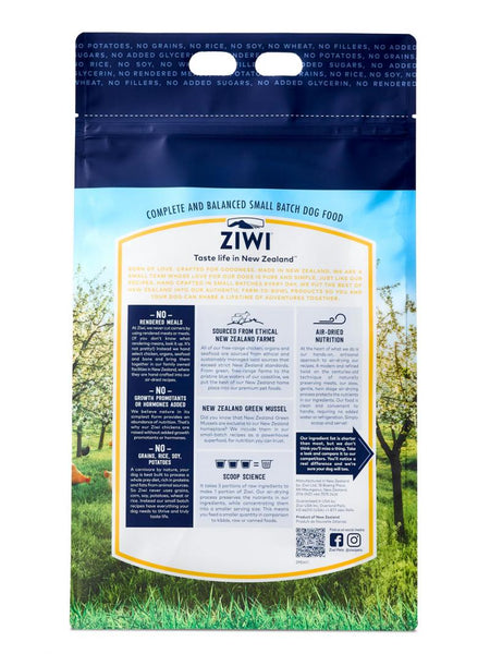 Ziwi Peak Air-Dried Free-Range Chicken For Dogs
