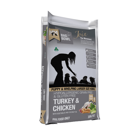 MEALS FOR MUTTS Grain Free Puppy Turkey & Chicken Large Kibble
