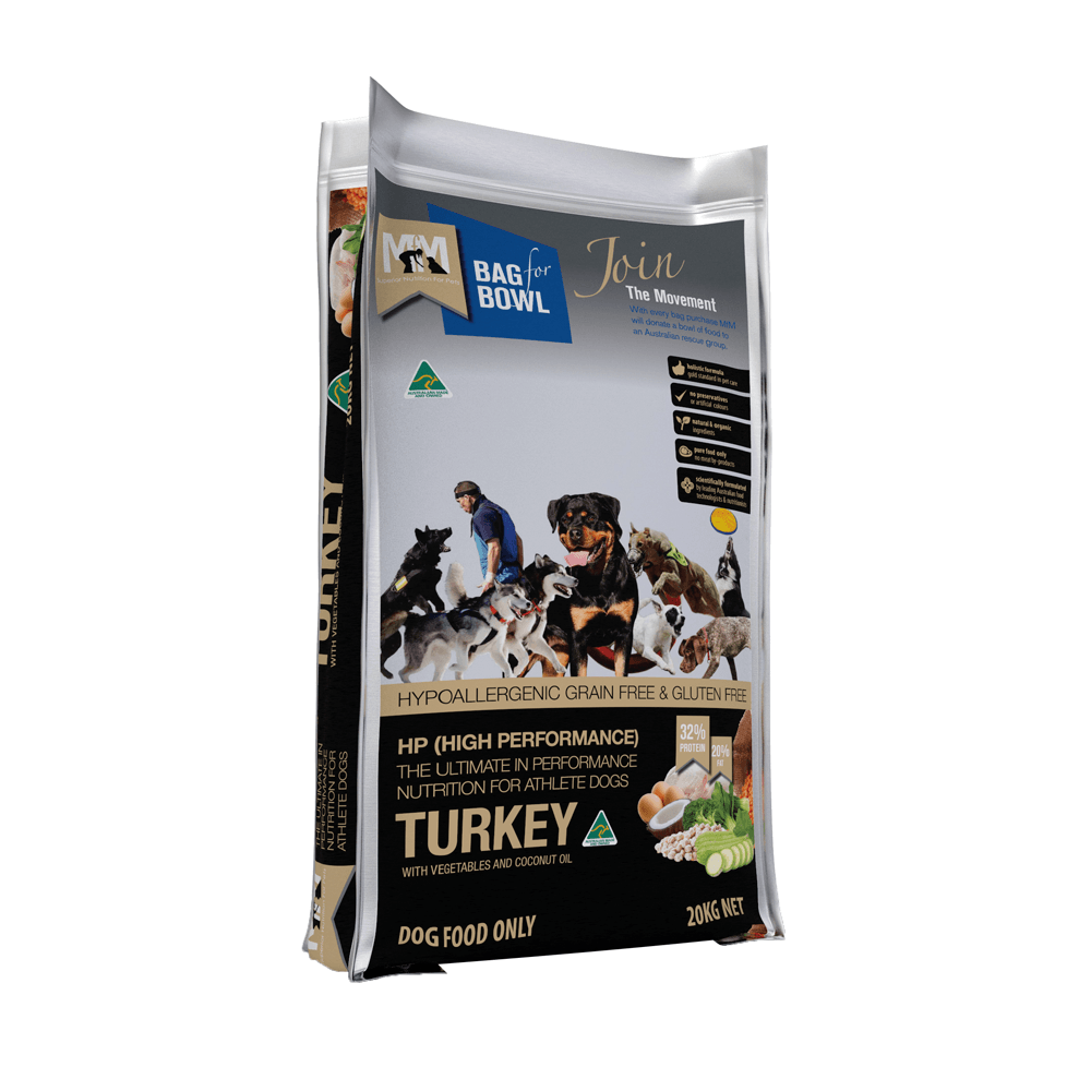 MEALS FOR MUTTS High Performance Grain & Gluten Free Turkey