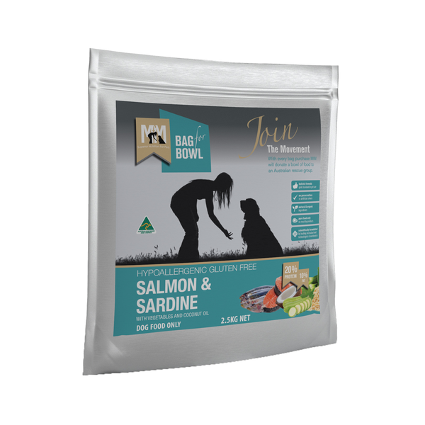MEALS FOR MUTTS Salmon & Sardine