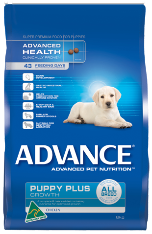 ADVOCATE Dog 10-25kg Red