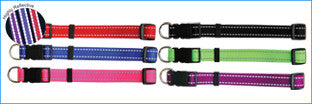BEAU PETS Collar Reflective Nylon Adjustable