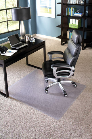 Clear Chair Mat for Carpet, Rectangle