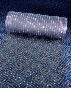 "Clear Carpet Runner 24"" Up To 50' Long"
