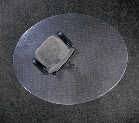 Circle Clear Chair Mat for Carpet